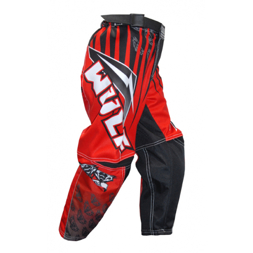 2016 Wulfsport Cub Arena Race Pants - Red