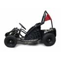 1000W Kids Electric Go Kart - Black