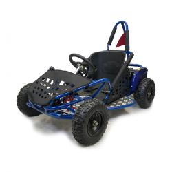 1000w Kids Electric Go Kart - Blue