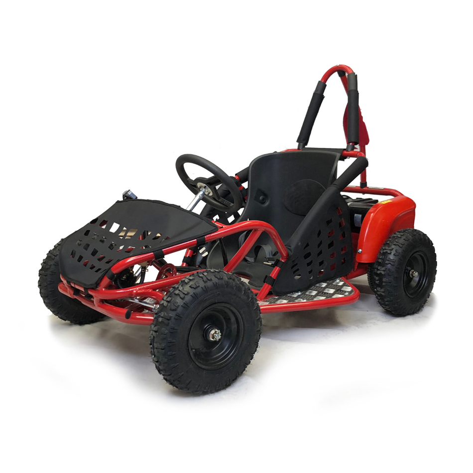 1000w Kids Electric Go Kart - Red