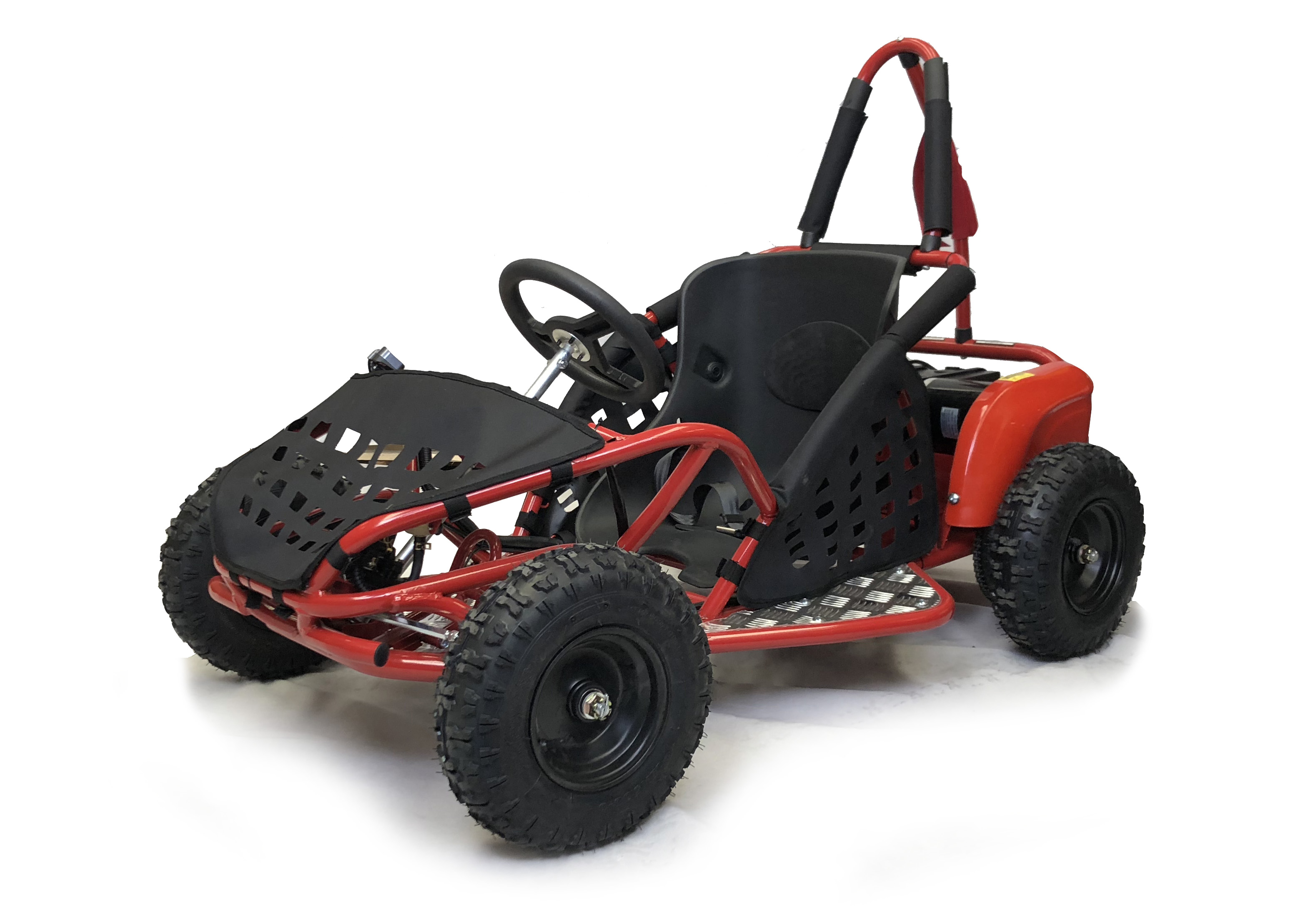 BUNDLE DEAL! 1000w Kids Electric Go Kart - Red