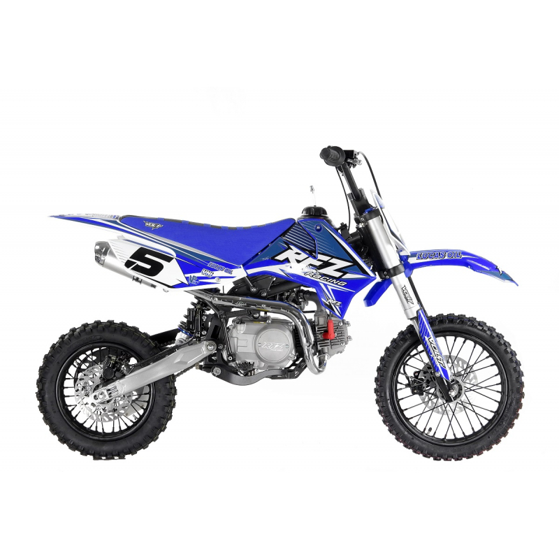 "110cc Pro Start RFZ Racing™ Semi Auto Pit Bike 14/12"" - Blue"