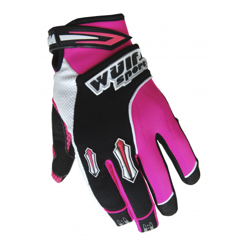 Wulfsport Cub Stratos MX Gloves - Pink