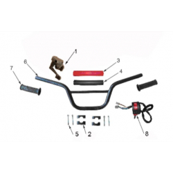 125cc Handlebar Parts