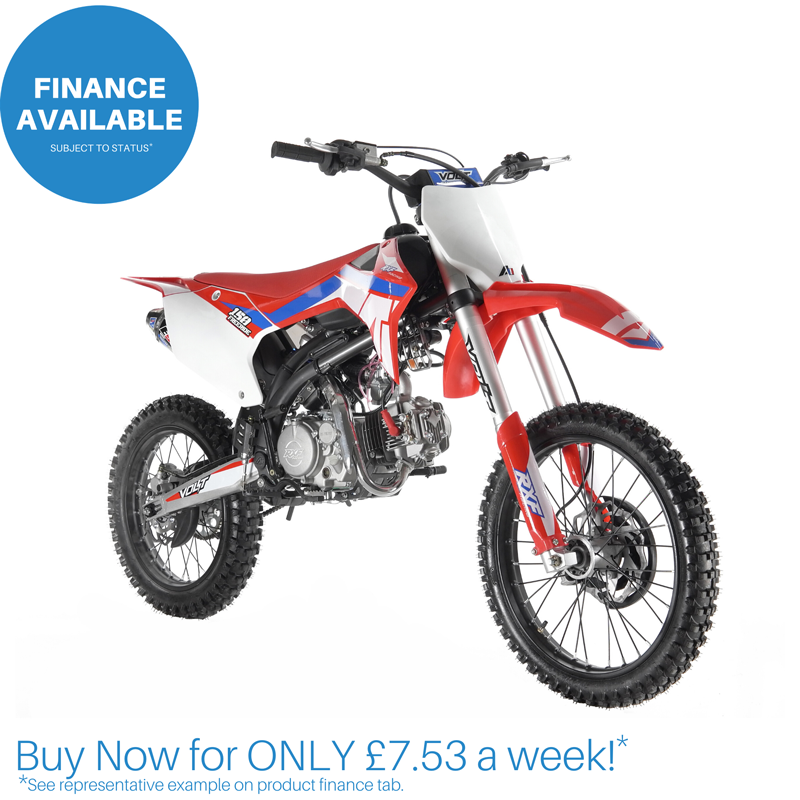"140cc Freeride XL RXF Racing Adults Dirt Bike - 19 / 16"""