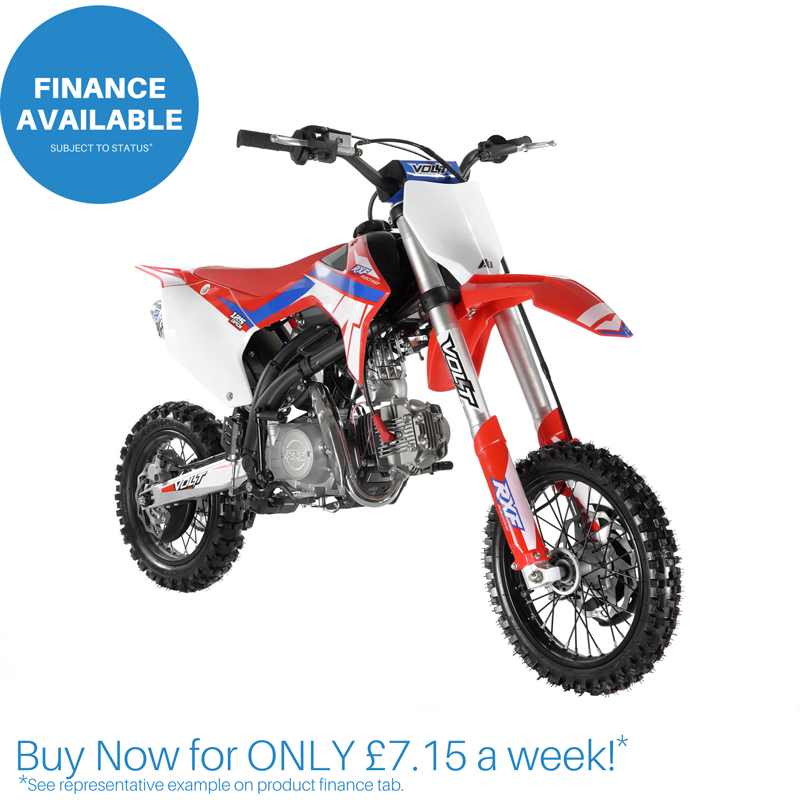 "140cc Open RXF Racing™ Pit Bike - 14"" / 12"""