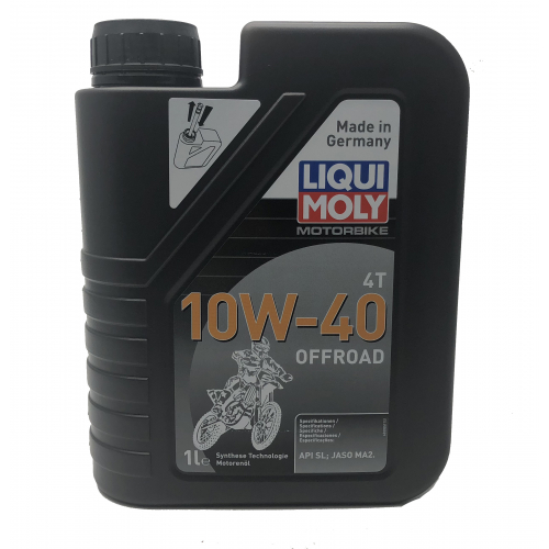 1L Liqui-Moly OFF ROAD High Performance 10W-40 Semi-Synthetic Oil 4 Stroke