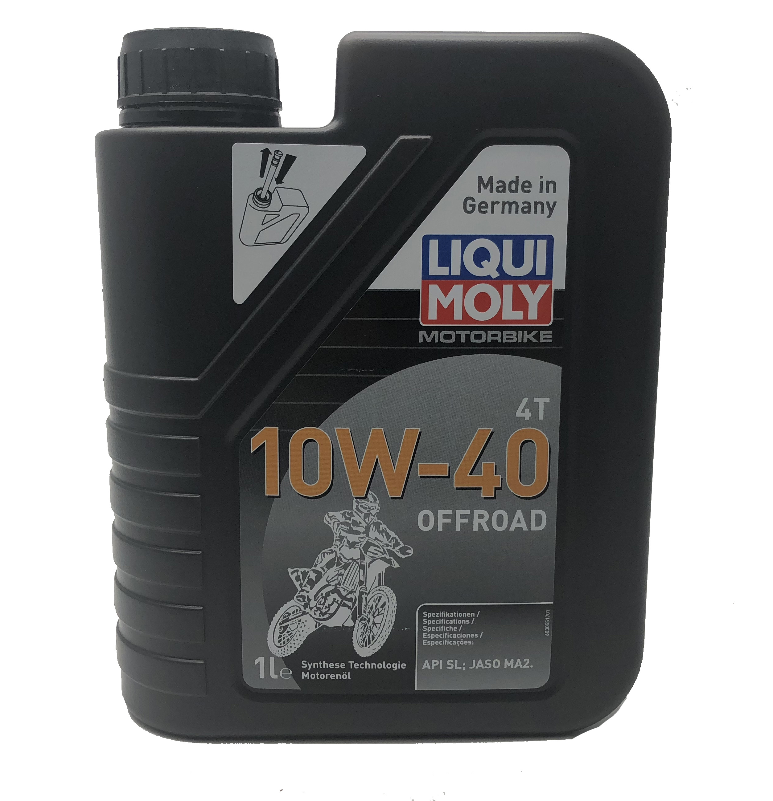 1L Liqui-Moly OFF ROAD High Performance 10W-40 Semi-Synthetic Oil 4 Stroke