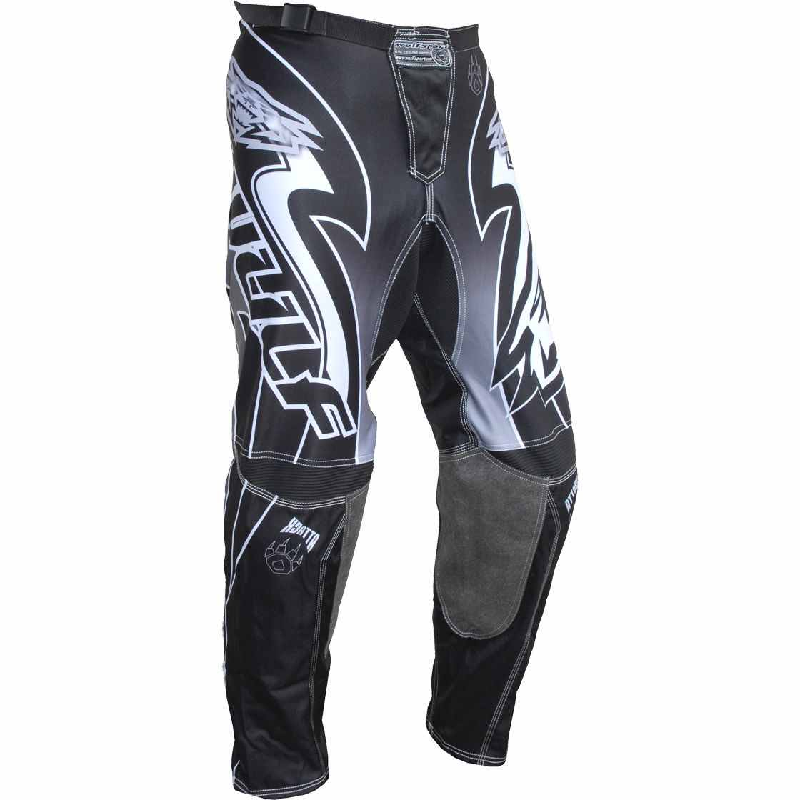 Wulfsport ATTACK Cub Race Pants - Black