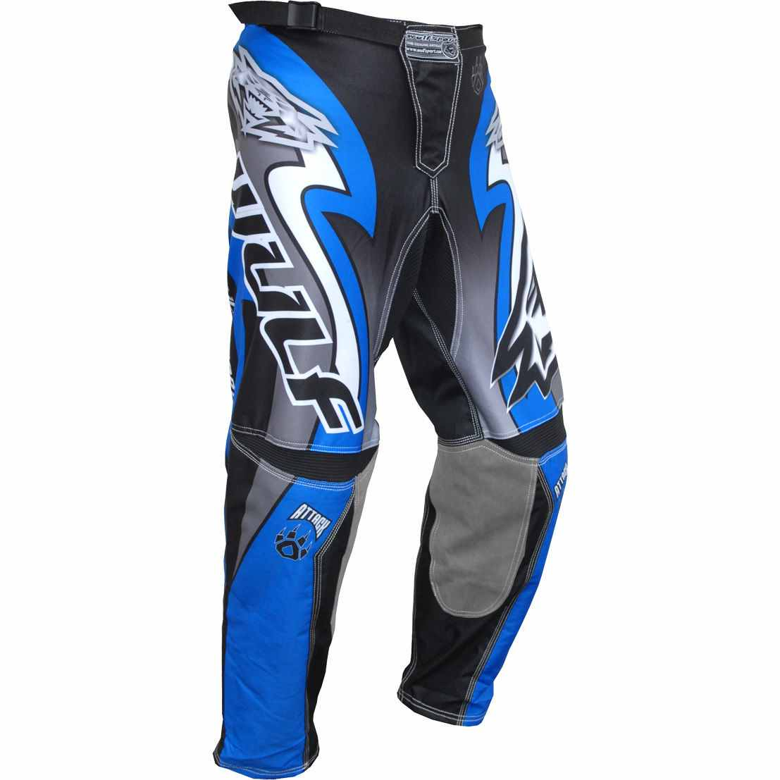 Wulfsport ATTACK Cub Race Pants - Blue