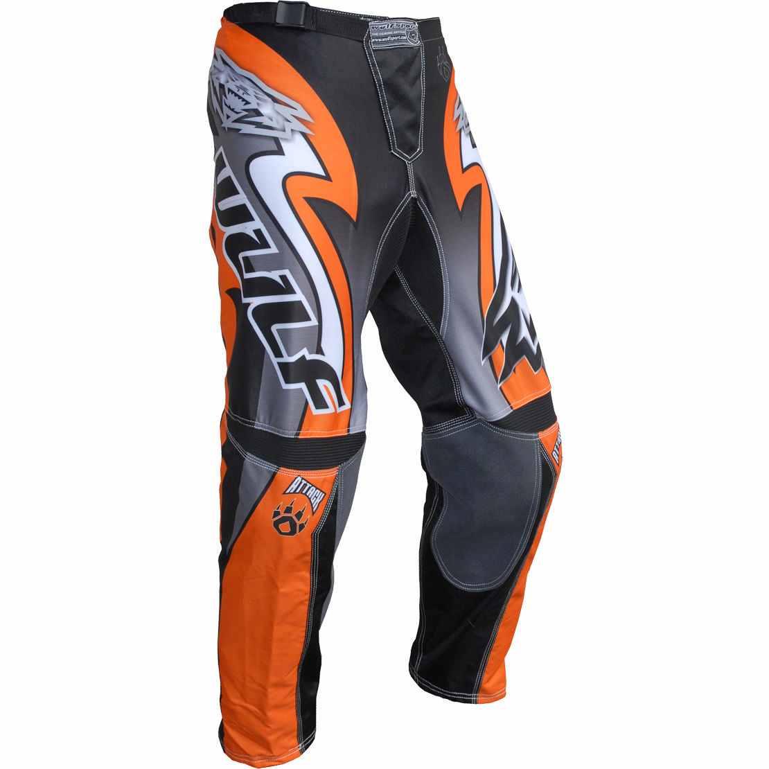 Wulfsport ATTACK Cub Race Pants - Orange
