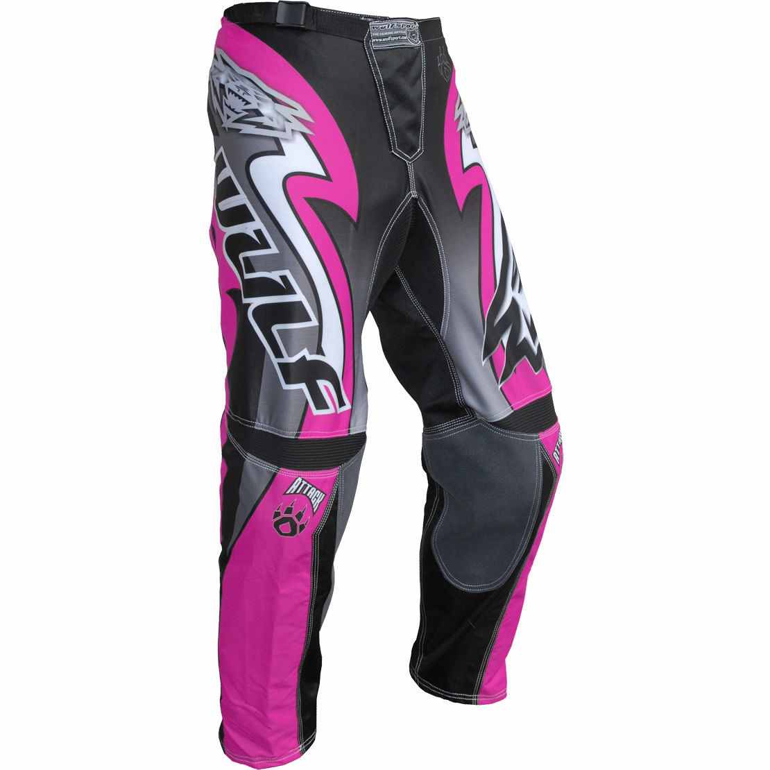 Wulfsport ATTACK Cub Race Pants - Pink