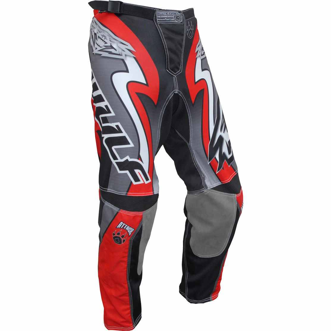 Wulfsport ATTACK Cub Race Pants - Red
