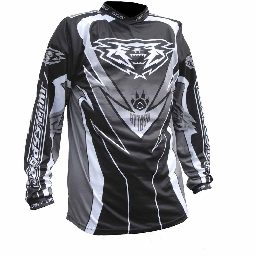 Wulfsport ATTACK Cub Race Shirt - Black