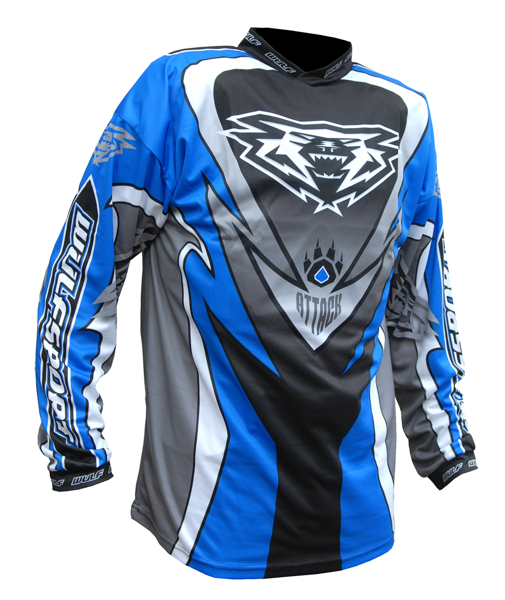 Wulfsport ATTACK Cub Race Shirt - Blue