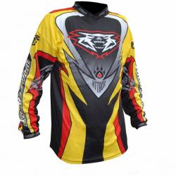 2018 Wulfsport ATTACK Cub Race Shirt - Multi Colour