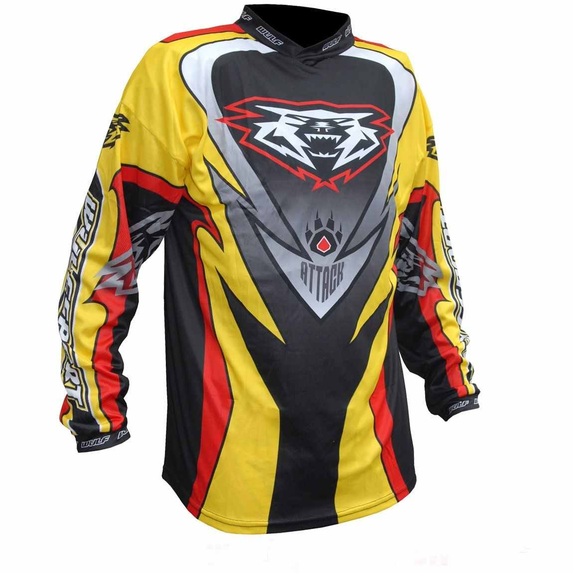Wulfsport ATTACK Cub Race Shirt - Multi Colour