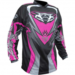 2018 Wulfsport ATTACK Cub Race Shirt - Pink