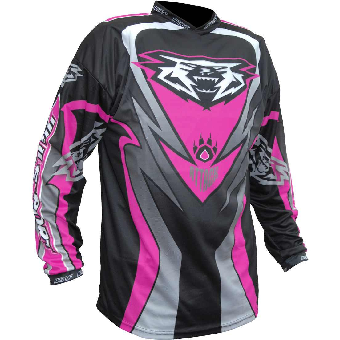 Wulfsport ATTACK Cub Race Shirt - Pink