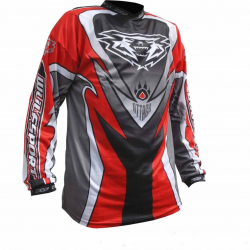 2018 Wulfsport ATTACK Cub Race Shirt - Red