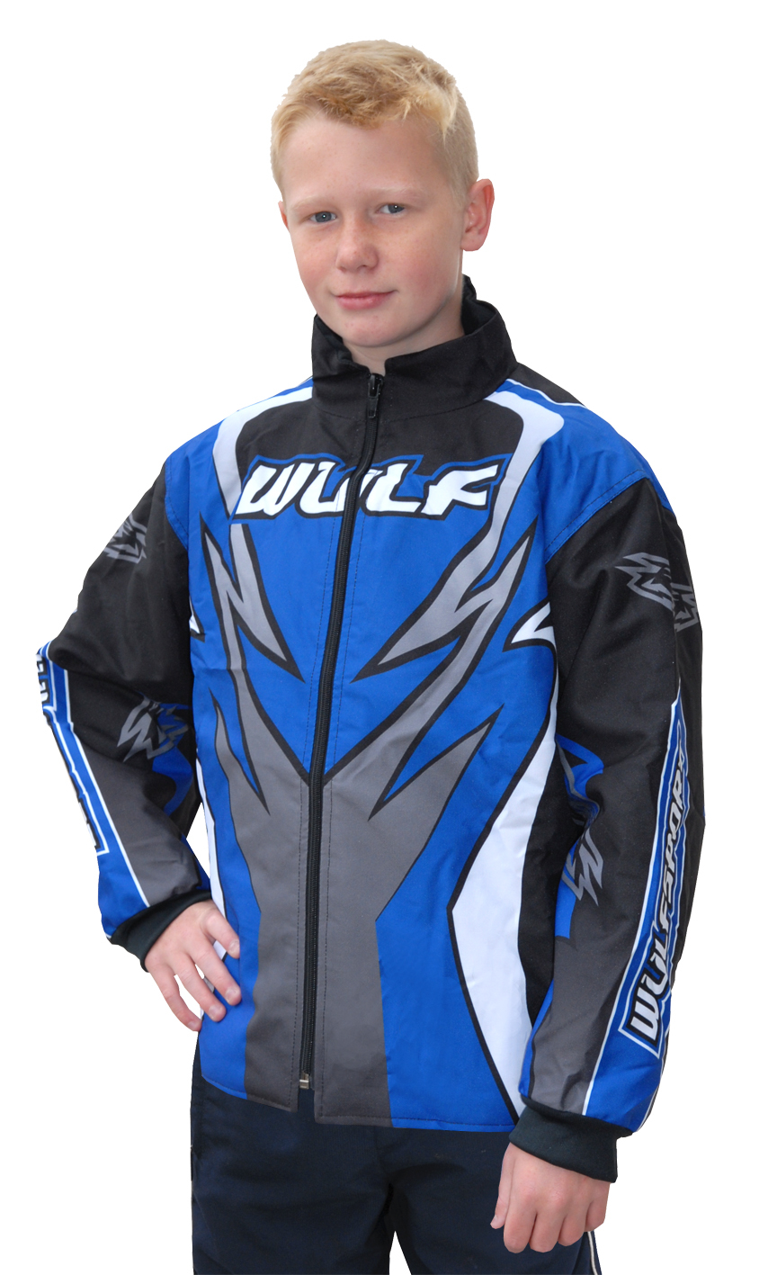 Wulfsport ATTACK Padded Fit Jacket- Blue