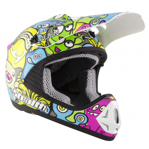 2019 Kids Stealth Alien Helmet