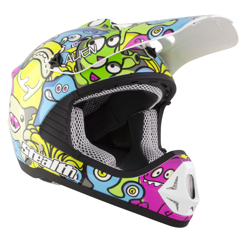 2021 Kids Stealth Alien Helmet