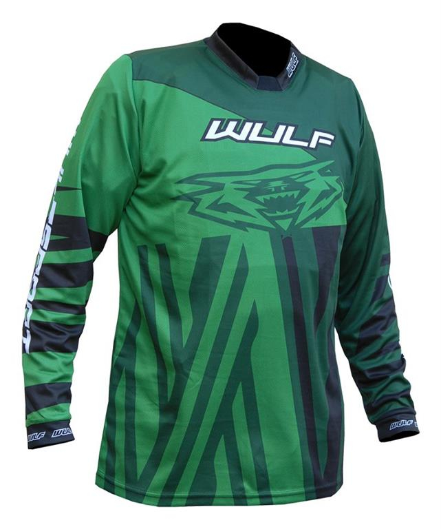 2021 Wulfsport Ventuno Kids Race Shirt - Green