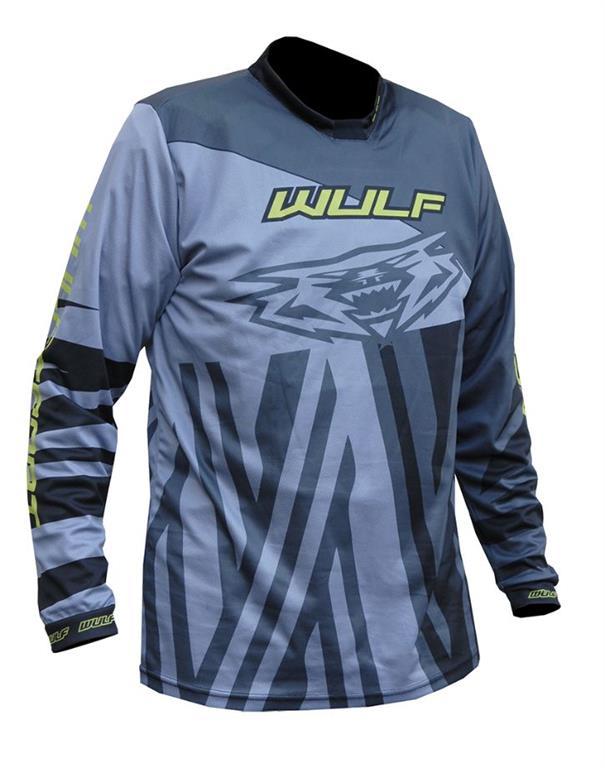 2021 Wulfsport Ventuno Kids Race Shirt - Grey