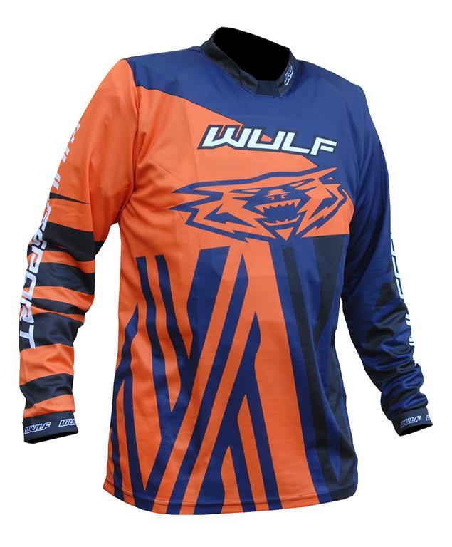 2021 Wulfsport Ventuno Kids Race Shirt - Orange