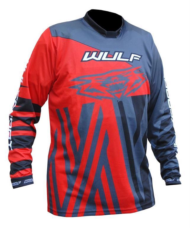 2021 Wulfsport Ventuno Kids Race Shirt - Red