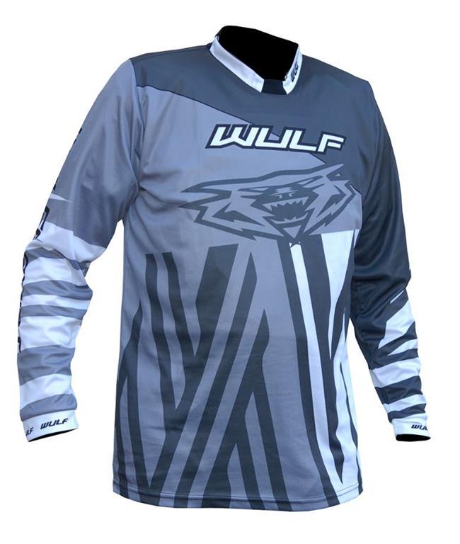 2021 Wulfsport Ventuno Kids Race Shirt - Silver