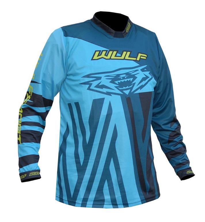 2021 Wulfsport Ventuno Kids Race Shirt - Turquoise