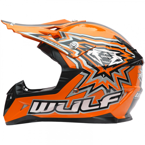 New Wulfsport Cub Flite-Xtra Helmet - Orange