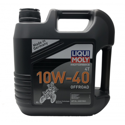 4L Liqui-Moly OFF ROAD High Performance 10W-40 Semi-Synthetic Oil 4 Stroke