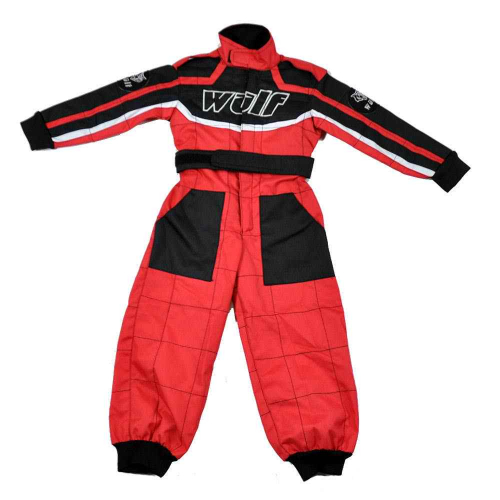 Wulfsport Cub Racing Suit - Red