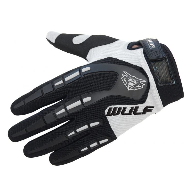 Wulfsport Adults Attack Gloves - White