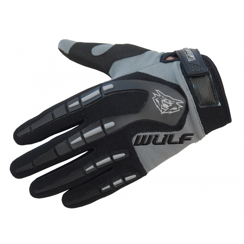 Wulfsport Kids Attack Gloves - Grey