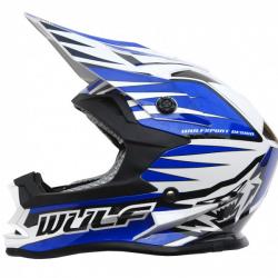 NEW 2018 Wulfsport Cub Advance Helmet - Blue