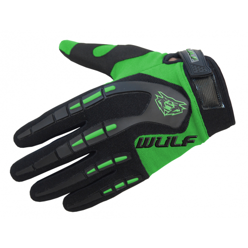 Wulfpsort Kids Attack Gloves - Green