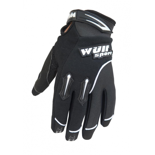 Wulfsport Cub Stratos MX Gloves - Black