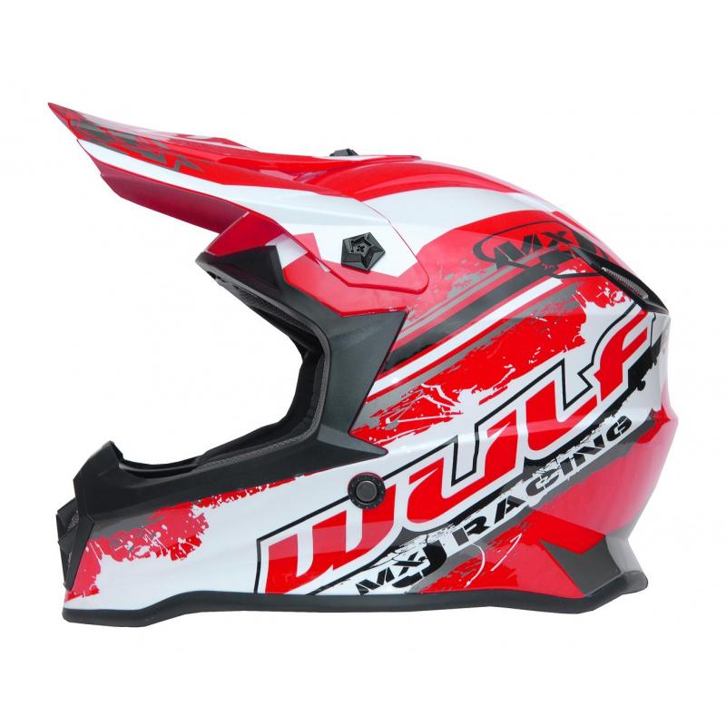 New 2021 Wulfsport Kids Off Road Pro Helmet - Red