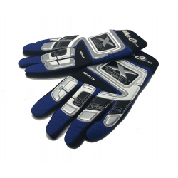 BIKE IT ADULT RACE GLOVES (EXTRA LARGE) - BLUE