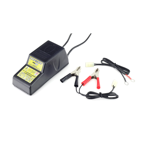 BIKETEK PRO-3 CHARGER 3 PIN 12V 1A (MALE CONNECTOR BLOCK)