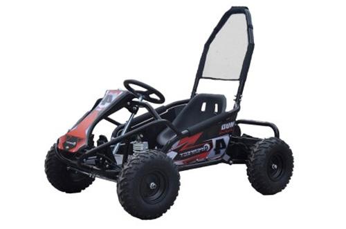 98cc Petrol Black Mud Monster Kids Go Kart