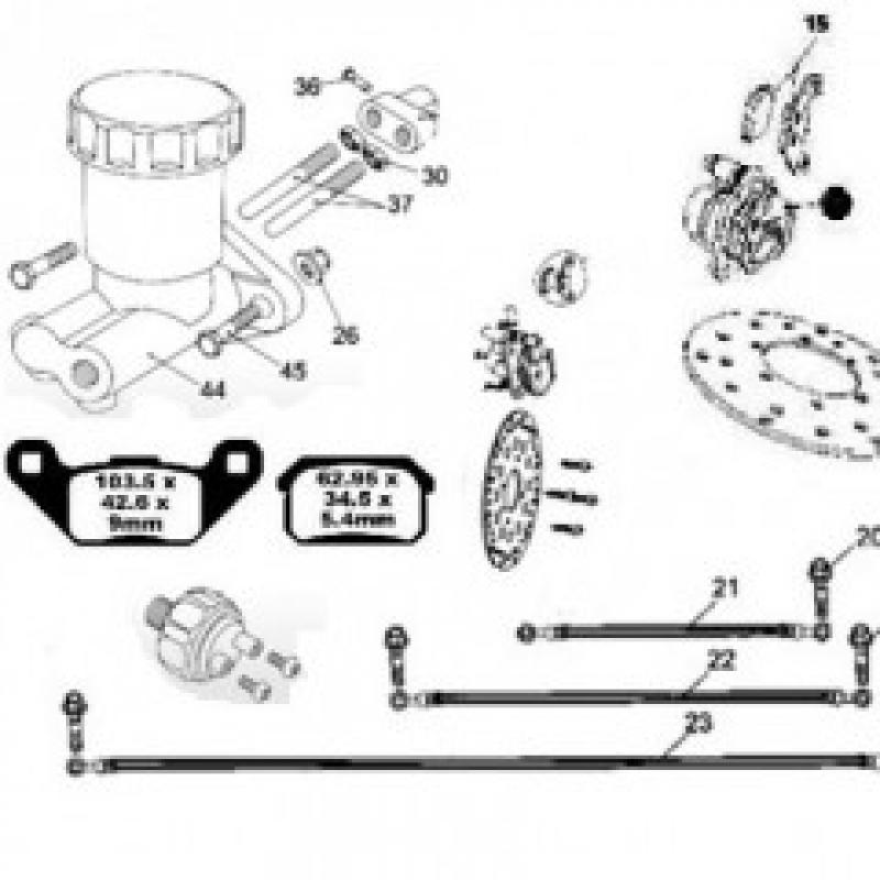 Hammerhead 250cc Parts | Storm Buggies on