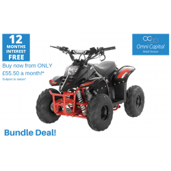 BUNDLE DEAL! ORION MIKRO 70cc KIDS QUAD - BLACK