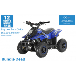 BUNDLE DEAL! ORION MIKRO 70cc KIDS QUAD - BLUE