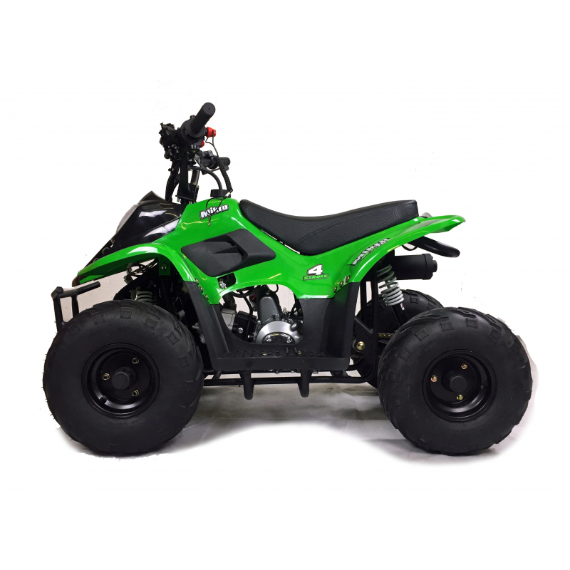 VRX70 Kids Quad Bike With Remote Safety Cut Off - GREEN