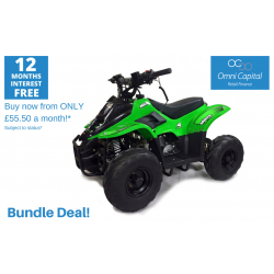 BUNDLE DEAL! ORION MIKRO 70cc KIDS QUAD - GREEN